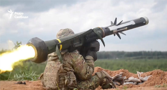 Американські ракетні комплекси Javelin прибули в Україну