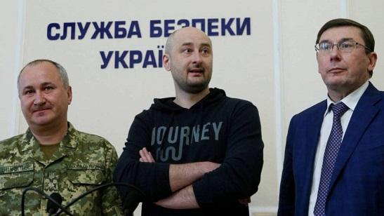 """""""Ще буде селфі на """"Абрамсі"""" на Тверській"""", – журналіст, чиє вбивство замовили з Росії, заявив, що вороги його загибелі не дочекаються"""