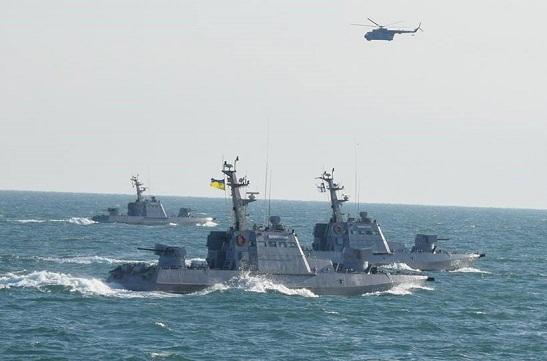 Українські ВМС з-за бойових навчань перекрили на все літо три ділянки Азовського моря