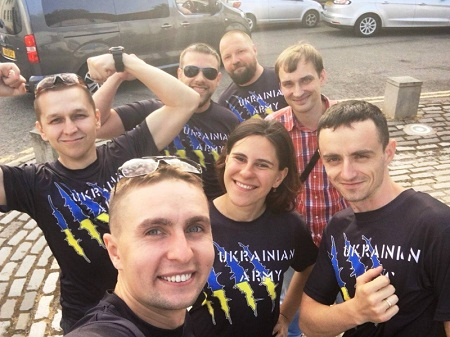 """Українські десантники у Шотландії здобули """"золото"""" спортивних змагань для військових ветеранів, що мають поранення"""