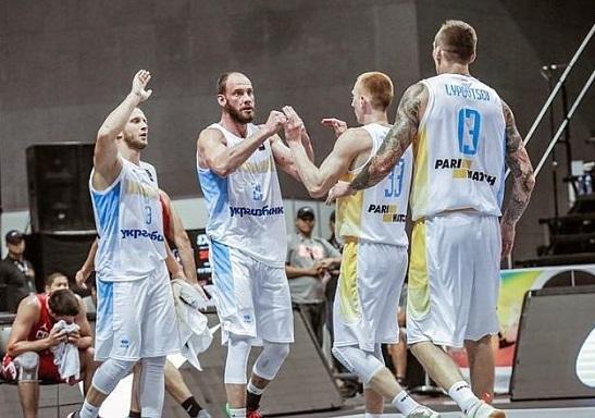 Національна збірна України – у чвертьфіналі ЧС-2018 з баскетболу