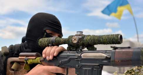 """Куля українського снайпера ліквідувала командира мінометної батареї терористів """"ЛНР"""""""