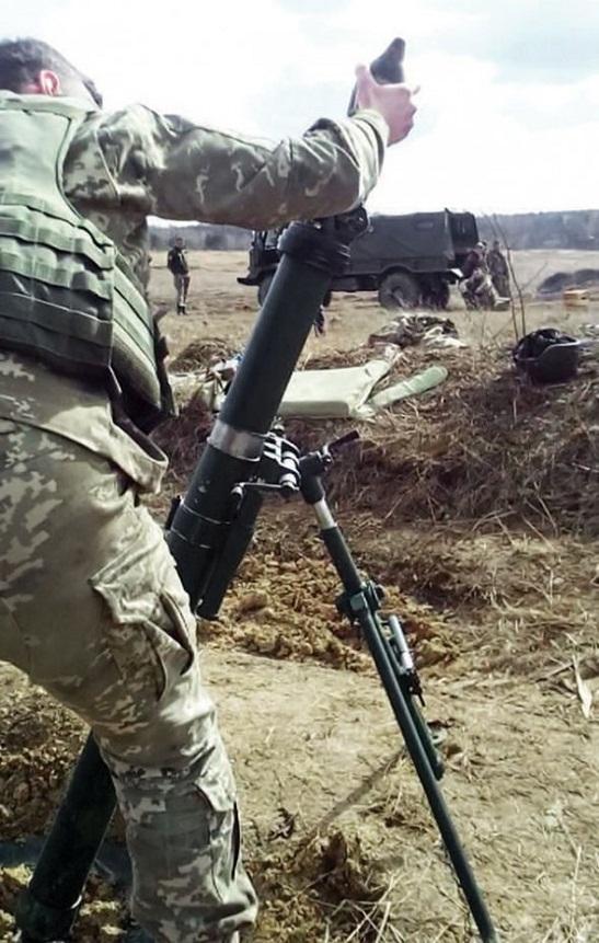 Нові 82-міліметрові міномети готові до застосування проти ворога