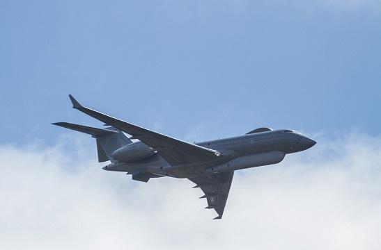 Літак ВПС Великобританії, що злетів з бази на Кіпрі, провів розвідку берегів окупованого Криму