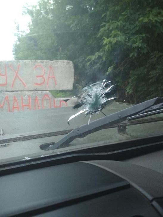 Броньоване скло з Черкащини врятувало прикордонників на Донбасі від ворожого обстрілу