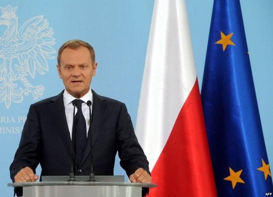 Дональд Туск, поляк на посаді Президента Європейської ради, закликає Варшаву і Київ до порузуміння у площині історичної пам'яті