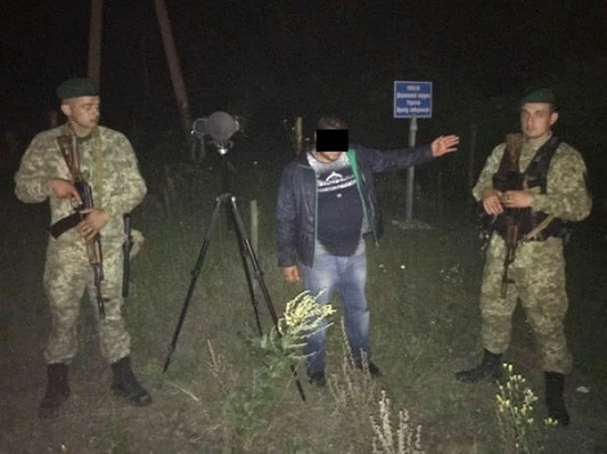 На Харківщині прикордонники піймали росіянина, який незаконно проникнув через кордон