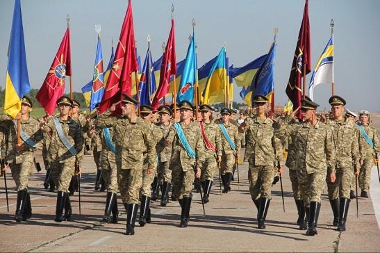 """На цьогорічному військовому Параді Незалежності вперше звучатиме марш націоналістів і гасло """"Слава Україні!"""" як військове вітання"""