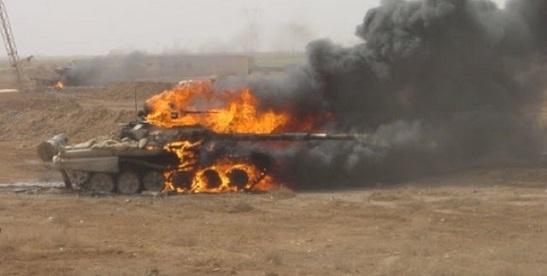 """У так званій """"ДНР"""" не зуміли приховати втрати: бойовикам ущент """"рознесло"""" водночас два російських танки"""