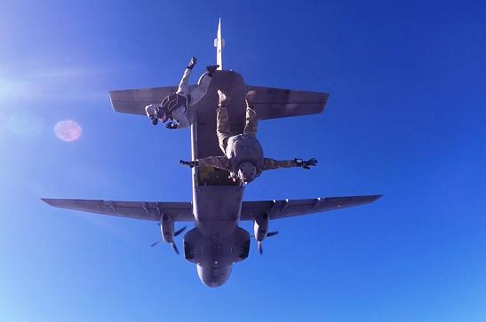 У Десантно-штурмових військах ЗСУ створено новий спецпідрозділ з висококласних спортсменів-парашутистів