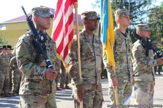 На Яворівський полігон на Львівщині прибули інструктори 278-го бронекавалерійського полку Сухопутних військ США