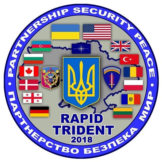 3 вересня в Україні стартують найбільші міжнародні військові навчання Rapid Trident 2018