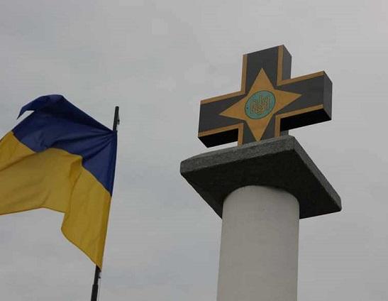 Автором і будівничим першого на Одещині пам'ятника бійцям УНР став ветеран-доброволець АТО з Черкащини