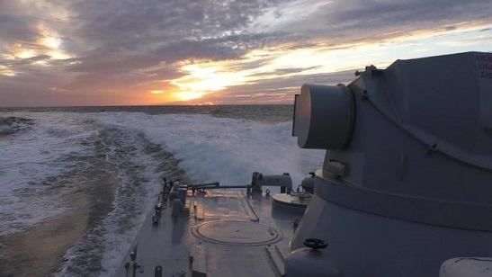 """""""Козацька воля-2018″: українські ВМС, відпрацьовуючи взаємодію з авіацією та сухопутними військами, провели бойові стрільби"""