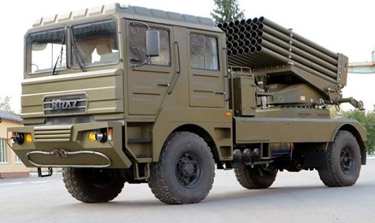"""Українські конструктори представили """"Берест"""" – нову ракетну систему залпового вогню, набагато потужнішу від системи """"Град"""""""