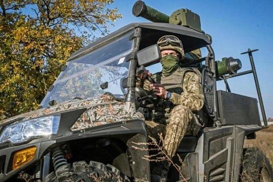 """Протитанкові ракетні комплекси бригади """"Холодний Яр"""" стали маневренішими завдяки міні-всюдиходам UTV"""