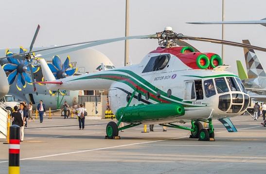 """Український вертоліт Mi-8MSB купили німці – бачать у ньому """"великий потенціал для Європи"""""""
