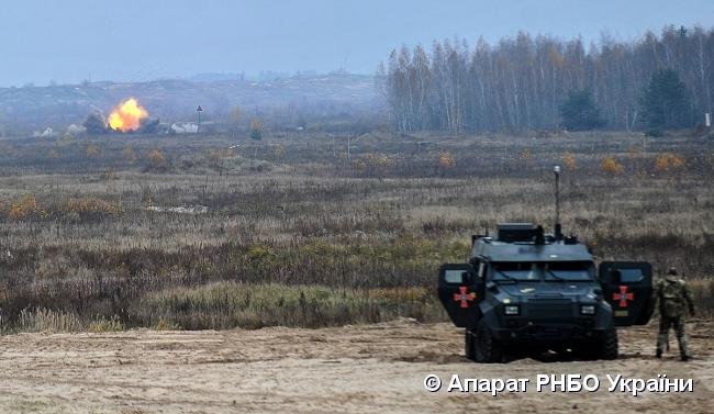 """Військові ЗСУ випробували бойову машину """"Барс-8ММК"""""""