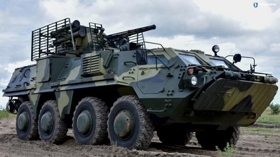 Українська армія отримала першу партію новітніх БТР