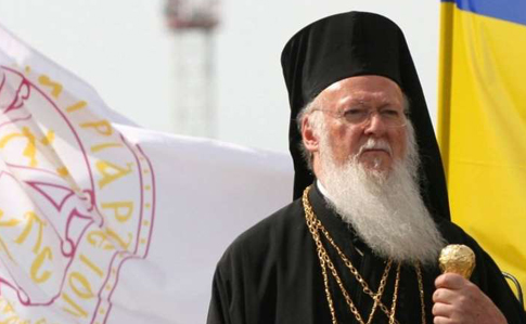 """Вселенський патріарх Варфоломій заявив: він знає про """"чорну пропаганду"""" Москви, але не збирається відступати в українському питанні"""