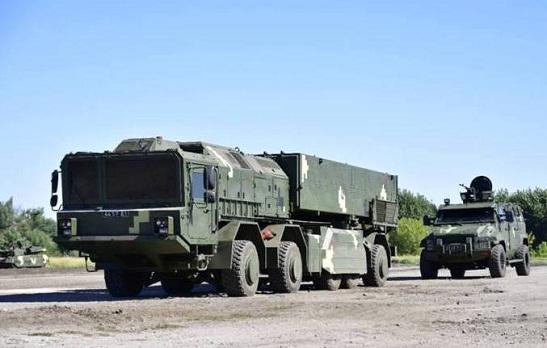 """Оперативно-тактичний ракетний комплекс """"Сапсан"""" готовий перетворити на пилюку ворогів України з відстані 280 кілометрів"""