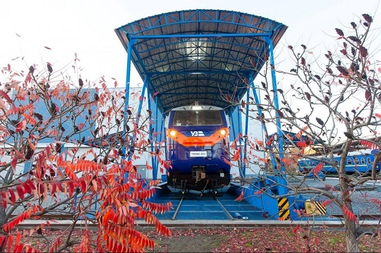 Локомотив General Electric «Тризуб» вперше вийшов на українську колію
