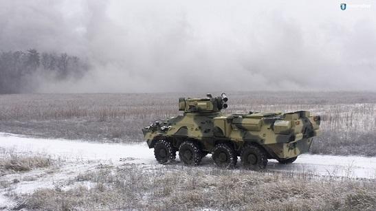 Українські зброярі створили новий БТР з експериментальним корпусом
