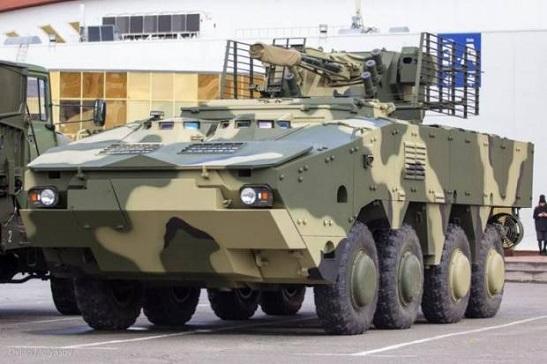 Завершено випробування найпотужнішого українського бронетранспортера