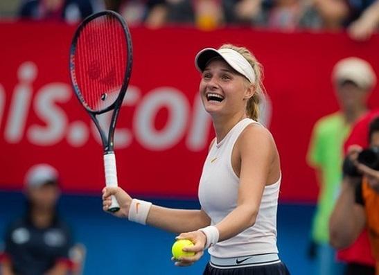 Українка Ястремська потрапила до рейтингу наймолодших чемпіонок сезону