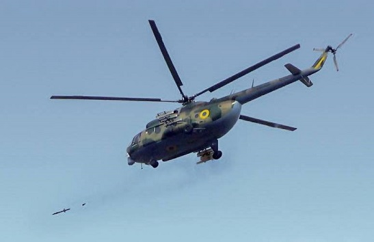 Черкаськi оптика з електронікою допомагають гелікоптерам ЗСУ знищувати наземні бронецілі з максимальною точністю