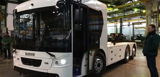 Компанія «Богдан» розробила першу українську електровантажівку