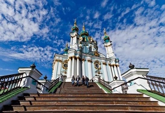 В Андріївській церкві в Києві відбудеться перша літургія Вселенського патріархату