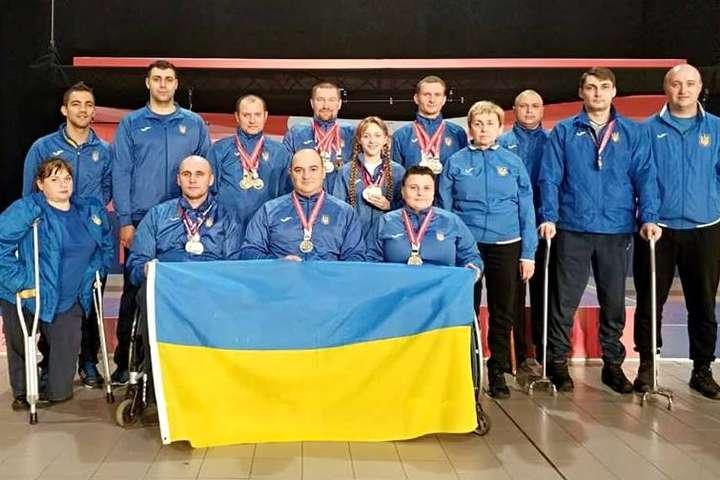 Параліймпійська збірна України з кульової стрільби стала першою на Чемпіонаті в Сербії