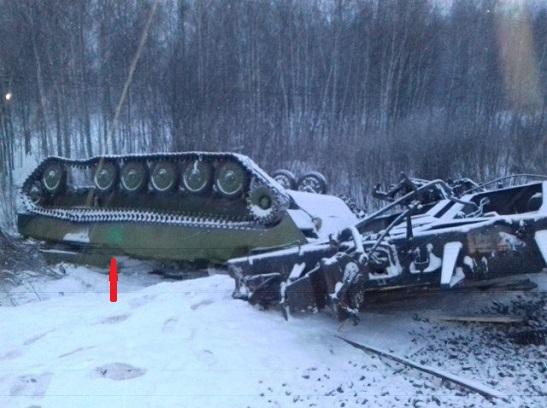 """Російський ешелон, який перевозив військову техніку, """"як для Донбасу"""", зазнав катастрофи"""