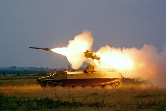 ЗСУ провели бойові навчання з відбиття авіанальоту на примор'ї Азову