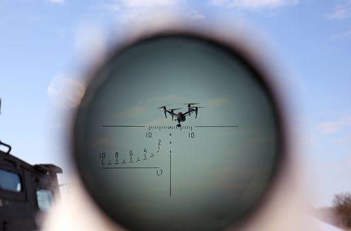 Військові знешкодили безпілотник біля одного з арсеналів