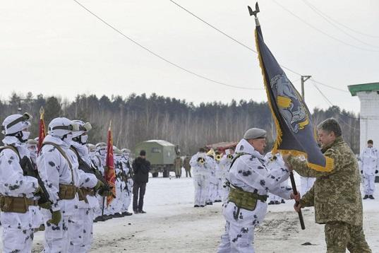 Порошенко затвердив символіку і девіз сил спецоперацій ЗСУ