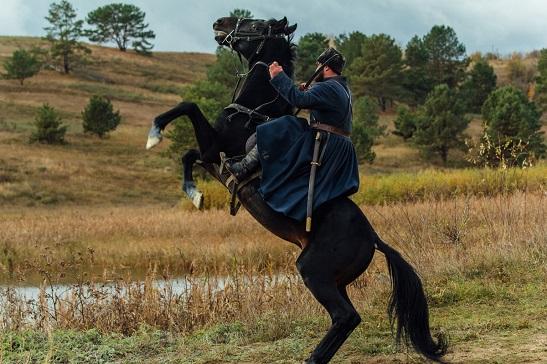 """Вже навесні буде повністю завершено зйомки """"Чорного Ворона"""" – фільму про повстанців Холодного Яру"""