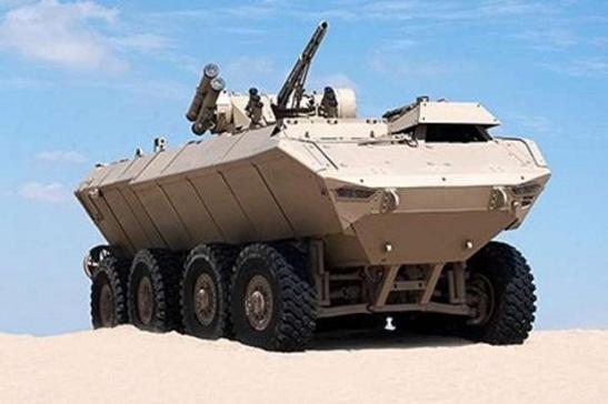Нові арабські бронемашини споряджені українською зброєю