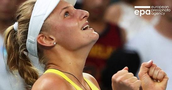 """Українка – серед найкращих у світі тенісисток, виграла в номінації """"Прорив місяця"""" за версією Жіночої тенісної асоціації (WTA)."""