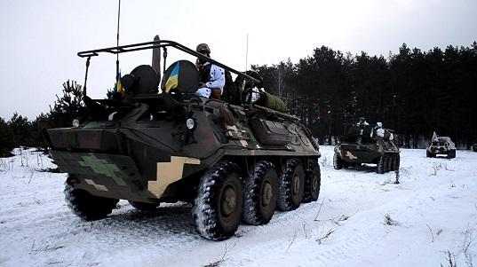 На Чернігівщині відбулися навчання танкових військ та авіації