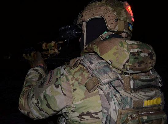 Спецназівці ЗСУ відточують майстерність ведення нічного бою