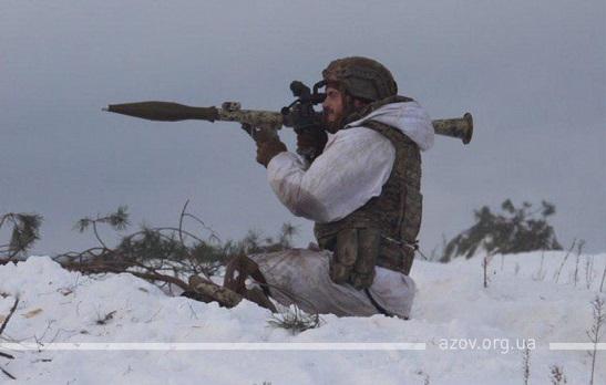 """Погана новина для тих, хто не любить Україну: """"Азов"""" повернувся на передову!"""