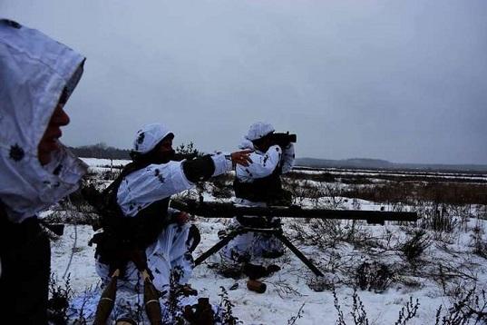 Українські бійці знищили машину з бойовиками на Луганщині