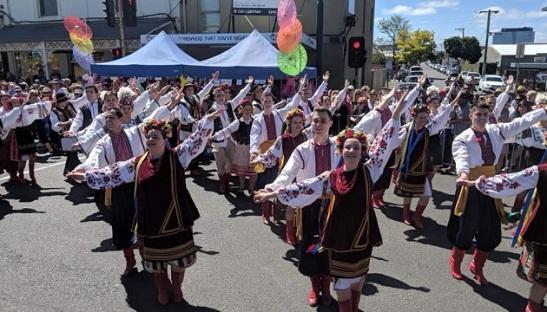 Українці Австралії представили Україну на мультикультурному фестивалі Pako Festa 2019