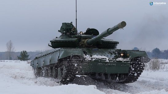 Для ЗСУ модернізували понад сотню танків Т-64