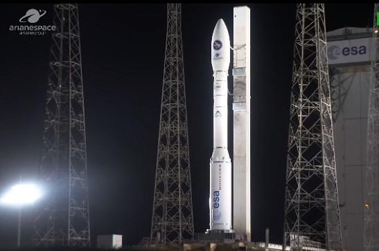 У Французькій Гвіані запустили ракету-носій з українським двигуном