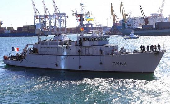 В порт Одеси зайшов мінний тральщик НАТО