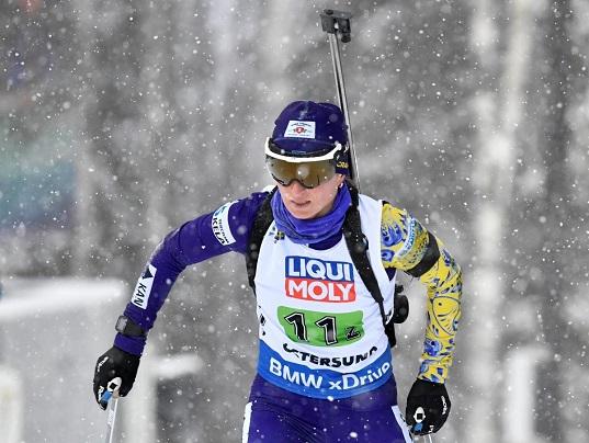 Жіноча збірна України з біатлону завоювала бронзу ЧС в естафеті