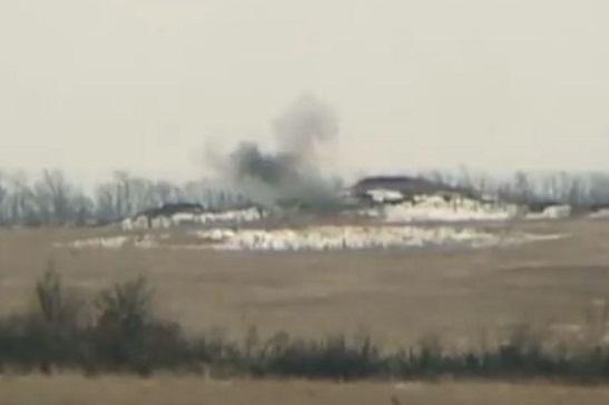 Офіцер ЗСУ показав потужне відео знищення бойовиків на Донбасі